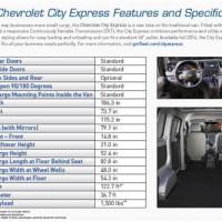 2017 Chevrolet Express 2500 Work Van >> Chevrolet Express 2500 Interior Dimensions ...